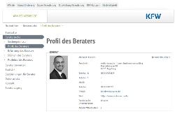 KfW Beraterboerse Profil Michael Hinrichs webonanzaDE